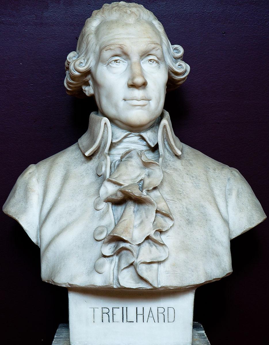 Bust of Jean-Baptiste Treilhard.