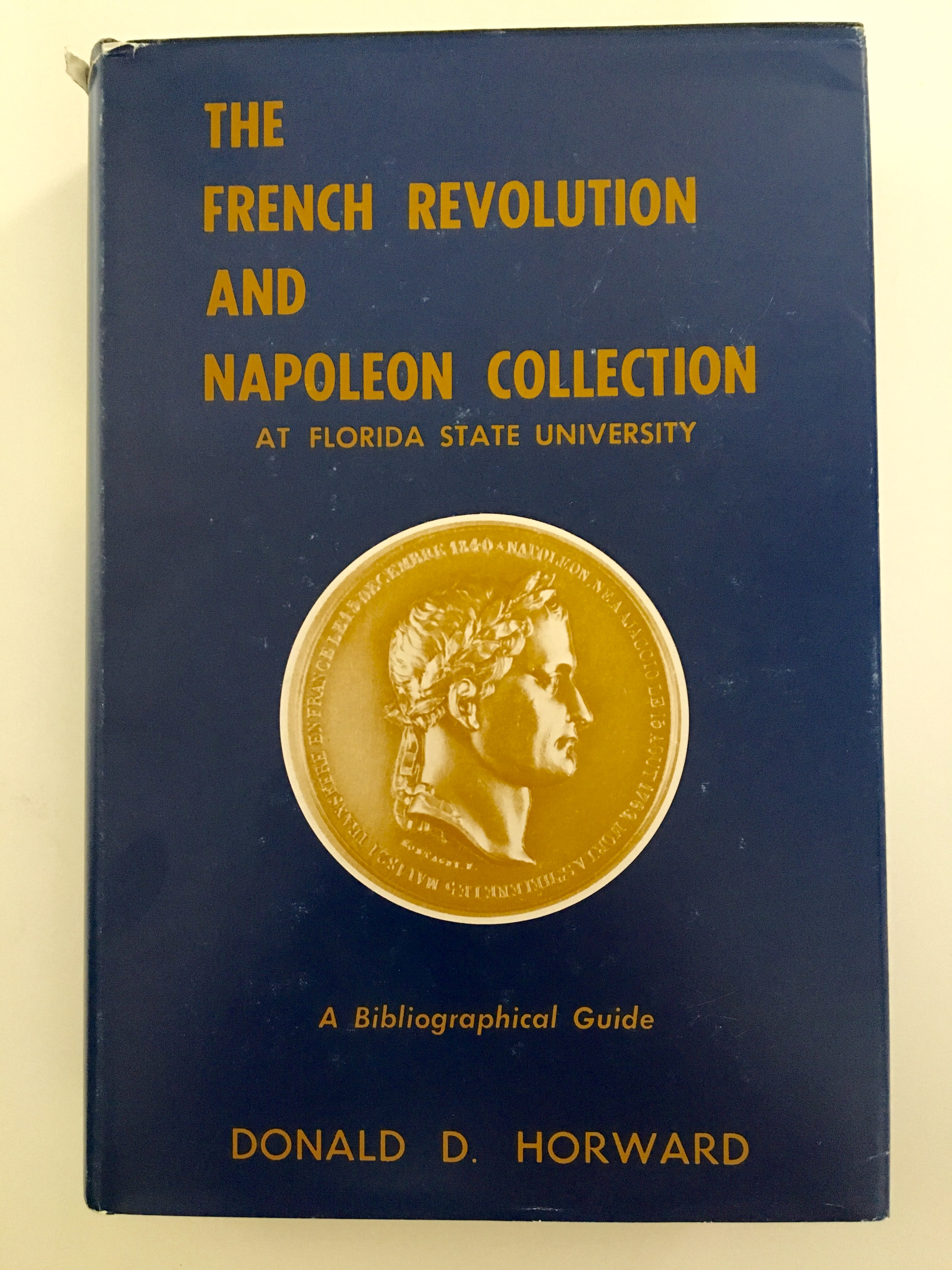 Book cover of French Revolution and Napoleon Collection by Donald Horward.