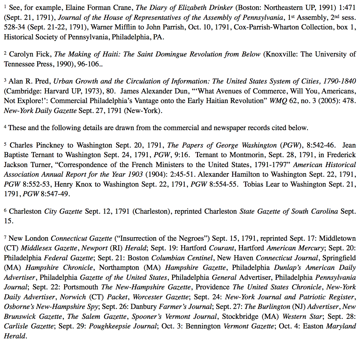 Endnotes to the article