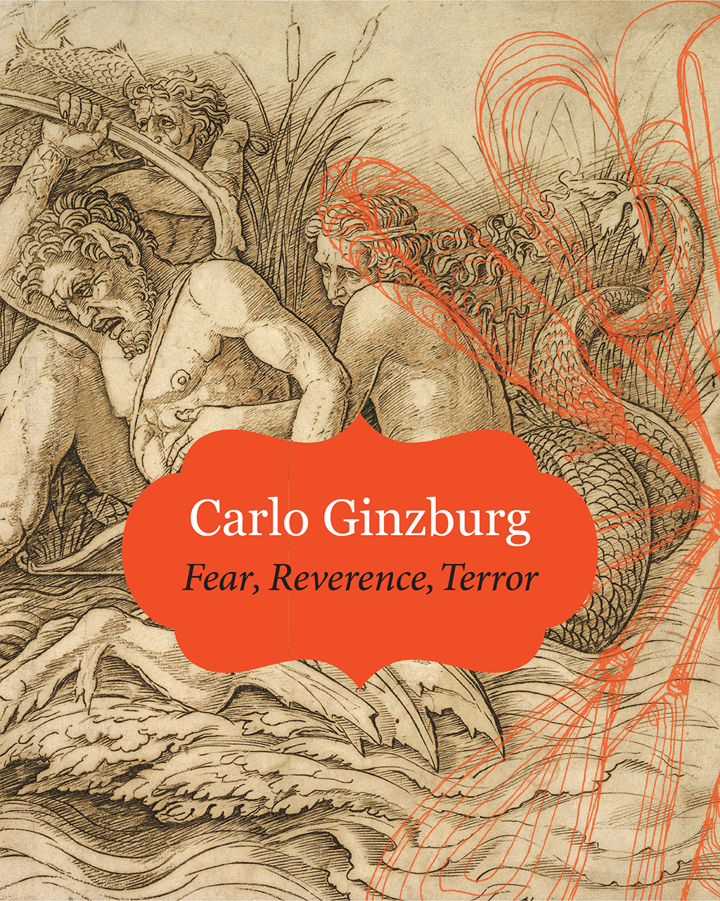 Book cover of Fear, Reverence, Terror by Carlo Ginzburg.
