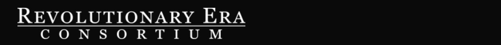 Logo of the Consortium on the Revolutionary Era.