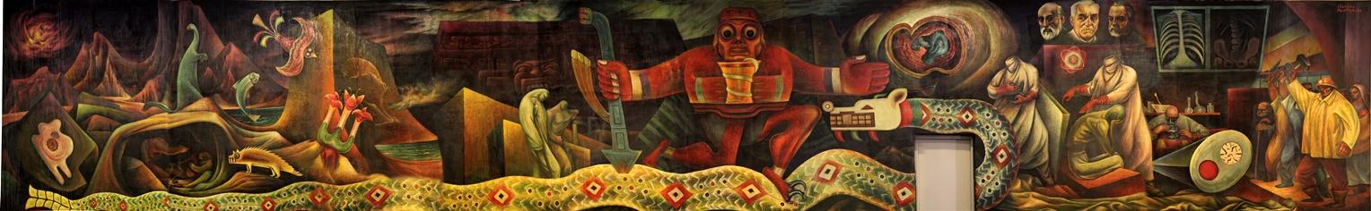 """Painting called """"La medicina"""""""