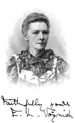 Portrait of Ethel Lilian Voynich.