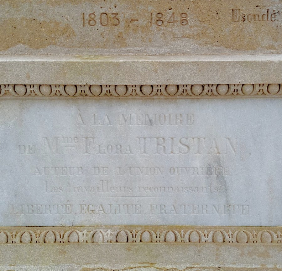 Tomb of Flora Tristan.