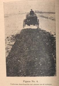 Abonos en el campo 1927