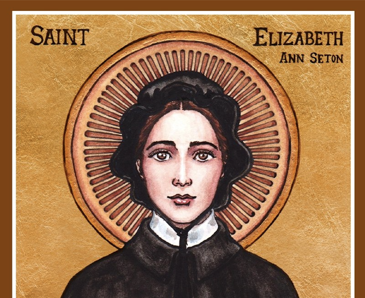 Book cover of Elizabeth Seton by Catherine O'Donnell.