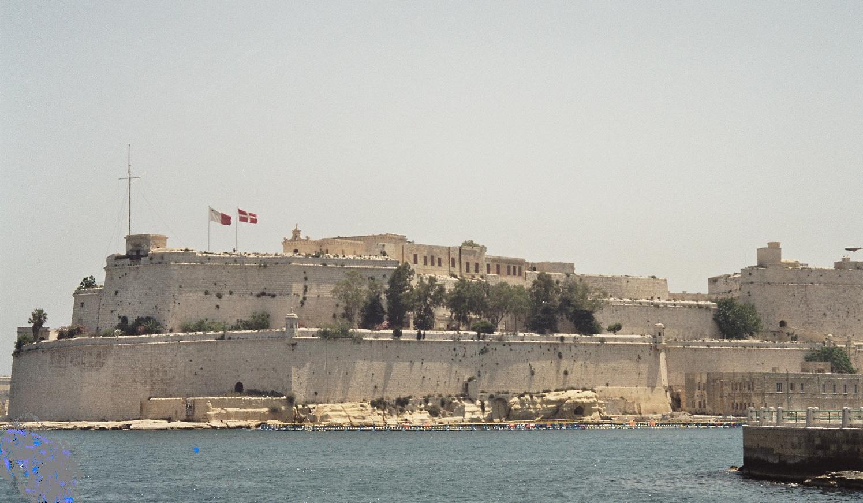 Fort Saint Angelo in Malta.