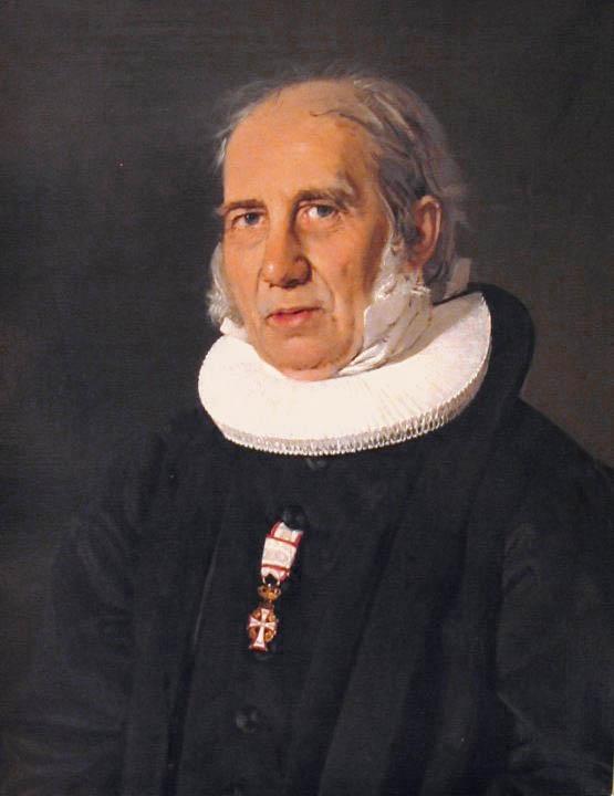 Portrait of Nikolaj Frederik Severin Grundtvig by C.A. Jensen.