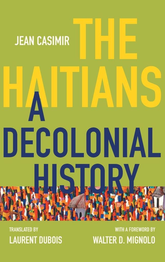 Book Cover of The Haitians by Jean Casimir.
